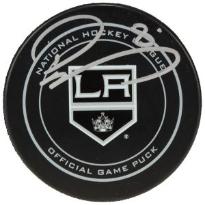 Autographed Los Angeles Kings Drew Doughty Fanatics Authentic Official Game Puck