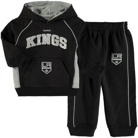 051e1950ff6 Infant Los Angeles Kings Reebok Black Classic Fan Arch   Logo Fleece Hoodie  and Pant Set – L.A. HOCKEY FAN