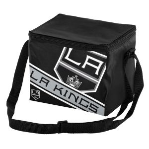 Los Angeles Kings Big Logo Stripe 12 Pack Cooler