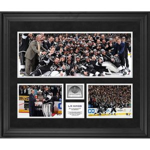 Los Angeles Kings Authentic Framed 2012 Stanley Cup Champions Collage with Stanley Cup Game-Used Ice