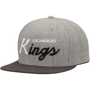 Los Angeles Kings Mitchell & Ness Tri-Pop Special Script Adjustable Snapback Hat