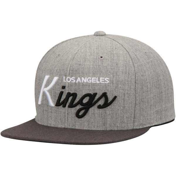 Los Angeles Kings Mitchell   Ness Tri-Pop Special Script Adjustable  Snapback Hat – L.A. HOCKEY FAN 18115d5471a9