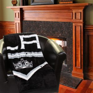 Los Angeles Kings Stamp 60″ x 80″ Raschel Plush Blanket