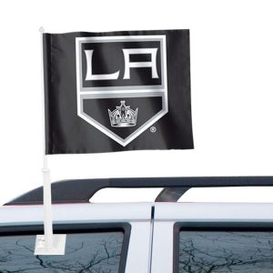 Los Angeles Kings WinCraft 11″ x 13″ Two-Sided Car Flag
