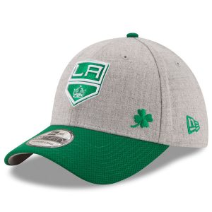 Men's Los Angeles Kings New Era Green St. Patrick's Day Flex Hat