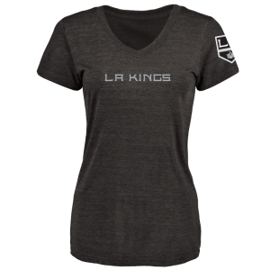 Women's Los Angeles Kings Design Your Own V-Neck Tri-Blend T-Shirt