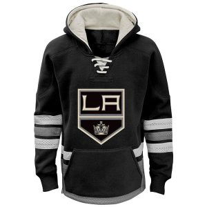 Youth Los Angeles Kings Reebok Black Retro Skate Hoodie