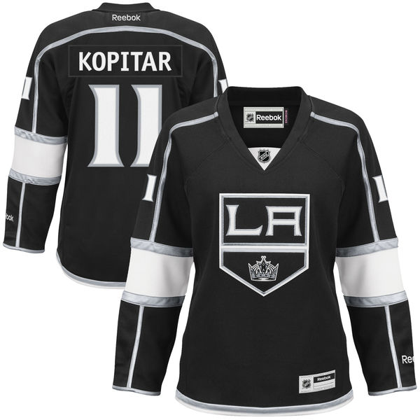 34da2823f20 Anze Kopitar Los Angeles Kings Reebok Women s Premier Player Jersey – Black