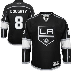 Drew Doughty Los Angeles Kings Reebok Men's Home Premier Jersey – Black