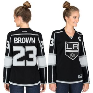 Dustin Brown Los Angeles Kings Reebok Women's Premier Player Jersey – Black