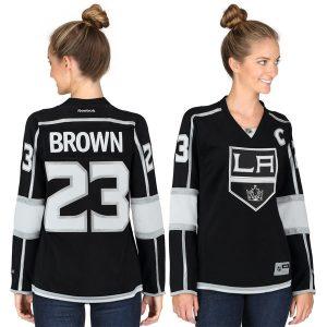 Dustin Brown Los Angeles Kings Reebok Women s Premier Player Jersey – Black 721e628ab2