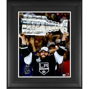Jarret Stoll Los Angeles Kings Fanatics Authentic Framed Autographed 16″ x 20″ Raising Stanley Cup Photograph with 2012/14 SC Champs Inscription
