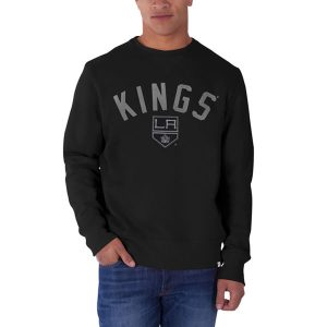 Los Angeles Kings '47 Cross-Check Sweatshirt – Black