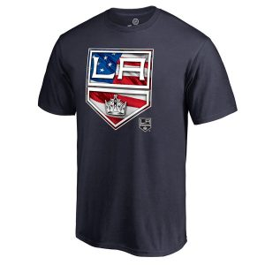 Los Angeles Kings Banner Wave T-Shirt – Navy