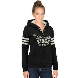 Los Angeles Kings CCM Women's Full Zip Hoodie – Black