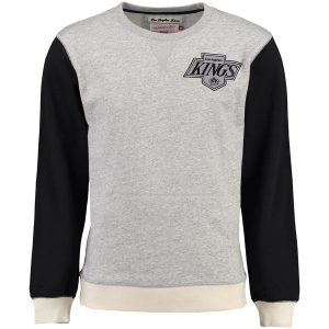 Los Angeles Kings Mitchell & Ness Team to Beat Crew – Gray/Black