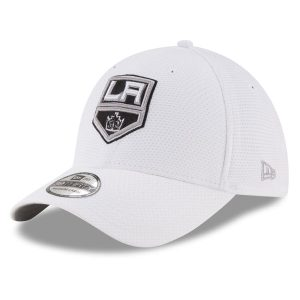 Los Angeles Kings New Era Tone Tech Redux 39THIRTY Flex Hat – White