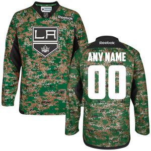 Los Angeles Kings Reebok Veterans Day Practice Jersey – Camo