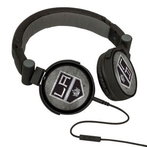 Los Angeles Kings Washed DJ Headphones