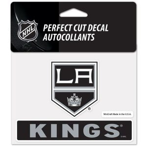 Los Angeles Kings WinCraft 4″ x 5″ Perfect Cut Decal