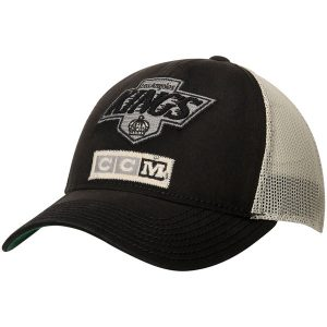 Los Angeles Kings CCM Structured Meshback Adjustable Hat – White/Black