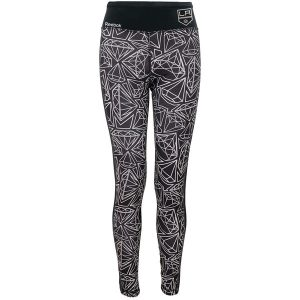 Los Angeles Kings Reebok Girls Youth Diamond Leggings – Black