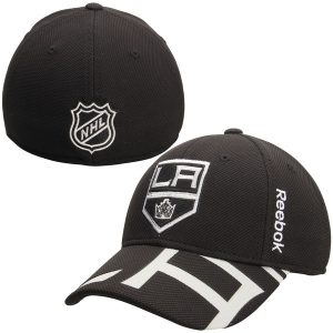 Los Angeles Kings Reebok Youth 2015 NHL Draft Structured Flex Hat – Black