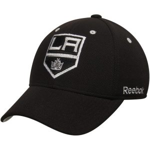 Los Angeles Kings Reebok Face-Off Team Structured Flex Hat – Black