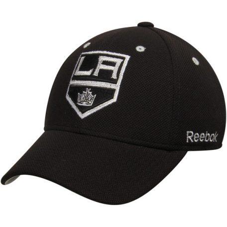 ed0b60905ce Los Angeles Kings Reebok Face-Off Team Structured Flex Hat – Black ...