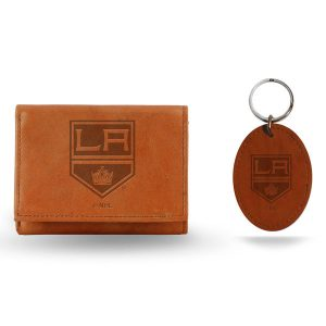Los Angeles Kings Wallet and Key Fob Set – Brown