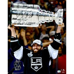 Jarret Stoll Los Angeles Kings Fanatics Authentic Autographed 16″ x 20″ Raising Stanley Cup Photograph with 2012/14 SC Champs Inscription